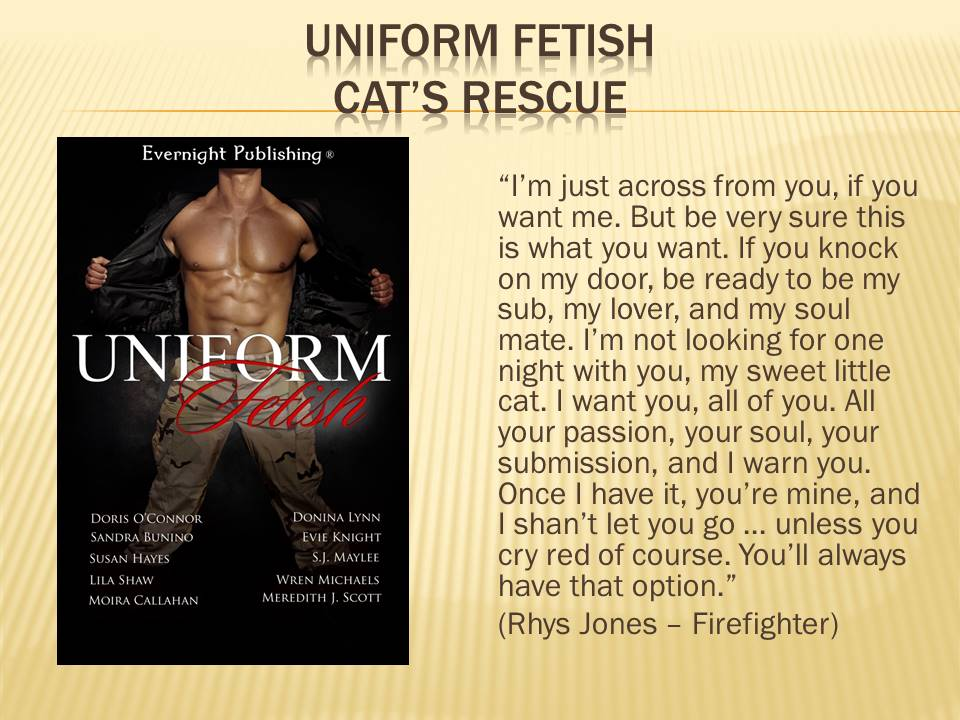 March 4 - Uniform Fetish teaser graphic